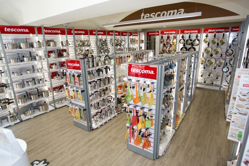 We have opened a network of Tescoma shops